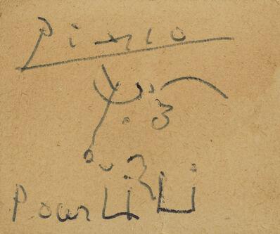 Pablo Picasso, 'Tête de taureau ', n.d.
