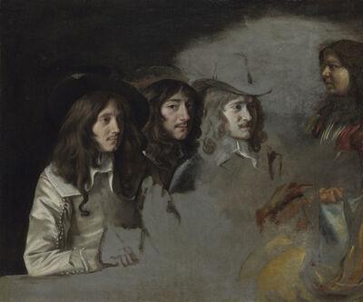 Louis Le Nain, 'Three Men and a Boy', ca. 1640
