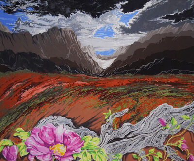 Jeanne Ungar, 'The Desert Flower Ode to Georgia O'Keefe', 2019