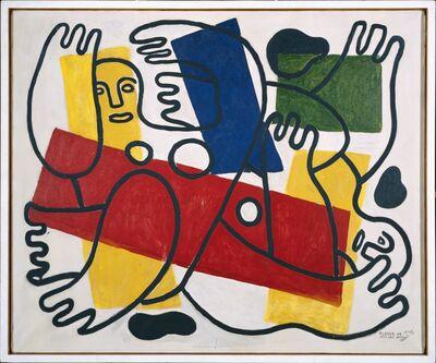 Fernand Léger, 'Les Plongeurs (The Divers)', 1943