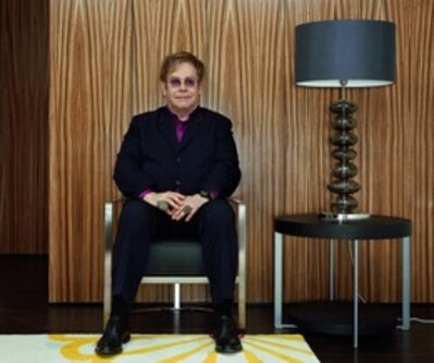 Rineke Dijkstra, 'Sir Elton John, from the Elton John AIDS Foundation Portfolio ', 2011
