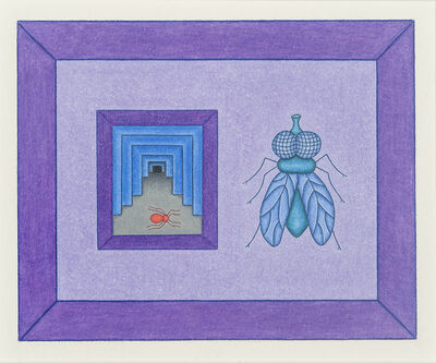 David Zeldis, '(Fly with Interior)', 1987