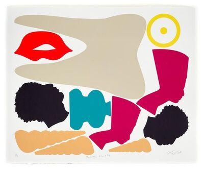 Damien Davis, 'Blackamoors V-Carve #4', 2015