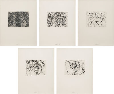 Brice Marden, 'After Botticelli: 1-5', 1993