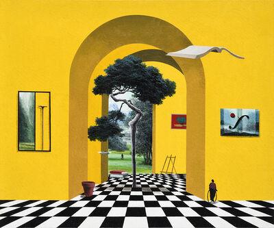 Sun-Tai Yoo, 'The words-My garden', 2014