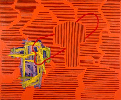 Jonathan Lasker, 'THE ODDNESS FACTOR', 1985