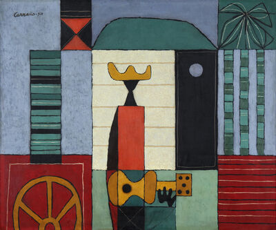 Mario Carreño, 'The Guitar Player', 1950
