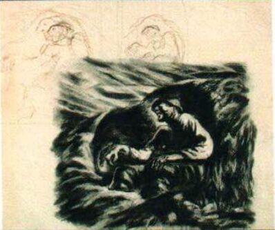 Syd Solomon, 'Untitled (figures)', 1944