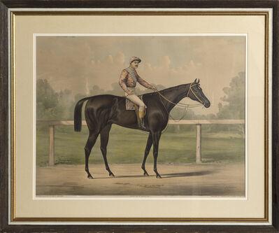 Currier & Ives, 'Jockey on a Horse', 1891