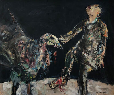 Yosl Bergner, 'The Vulture - Paintings for Franz Kafka', 1989