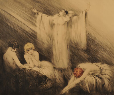 Louis Icart, 'Le Poeme (The Poem)', 1928
