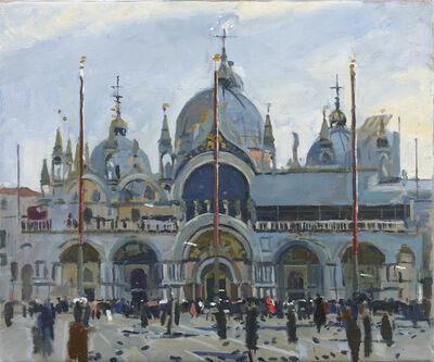 Ken Howard, 'Basilica San Marco', 2017