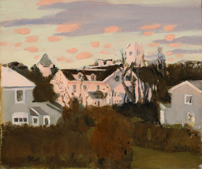 Fairfield Porter, 'Sunset, Southampton,', 1967