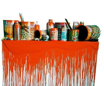 """Jorge Magyaroff, 'From the series """"color, object and time""""(orange)', 2015"""