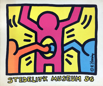 Keith Haring, 'Keith Haring Stedelijk Museum catalog ', 1986
