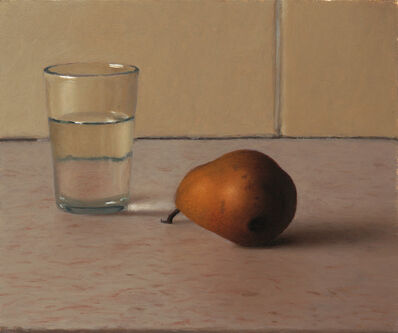 Aram Gershuni, 'Glass of Water and Pear', 2013