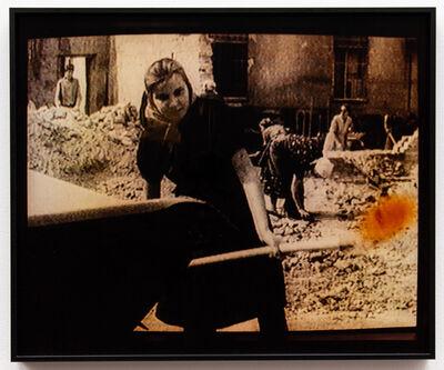 Ulrike Rosenbach, 'Das Bild der Frau in der Nachkriegszeit (Trümmerfrau)', 1996