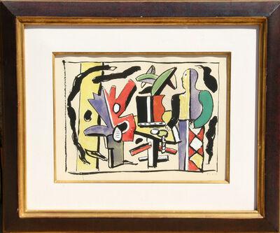 Fernand Léger, 'L'Artiste dans le Studio from Douze Contemporains', 1959