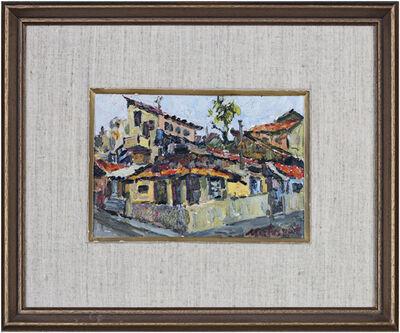 Michael Matusevitsch, 'Old Tel Aviv, signed', 1974