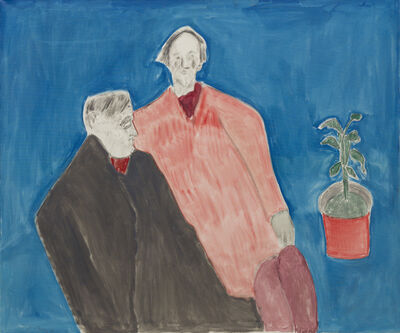 Milton Avery, 'Two Poets', 1963