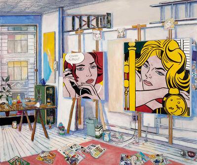 Damian Elwes, 'Roy Lichtenstein's Studio', 2019
