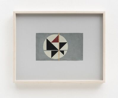 Aluisio Carvão, 'Tema Triangular 5', 1950's