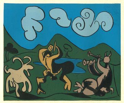 Pablo Picasso, 'Faunes et Chèvre', 1962