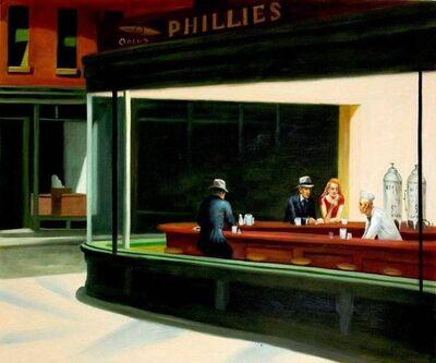 Edward Hopper, 'Nighthawks', 21st Century