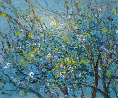 Bruno Zupan, 'Moonlight in Almond Grove', 2018