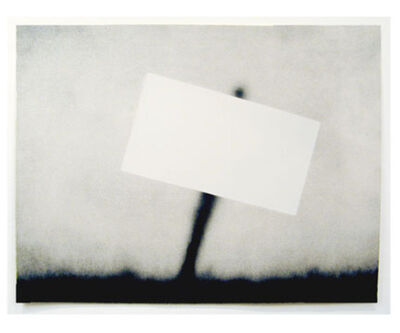 Ed Ruscha, 'Untitled (Blank Sign)', 1989