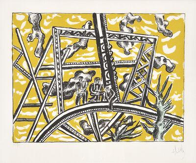 Fernand Léger, 'L'Échafaudage au Soleil (The Scaffold Sun)', 1951