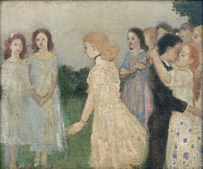 Arthur Bowen Davies, 'Untitled (Dance)', ca. 1908