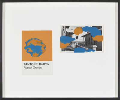 Tacita Dean, 'Pantone Pair (Russet Orange)', 2019