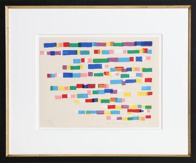 Piero D'orazio, 'Strokes', 1979