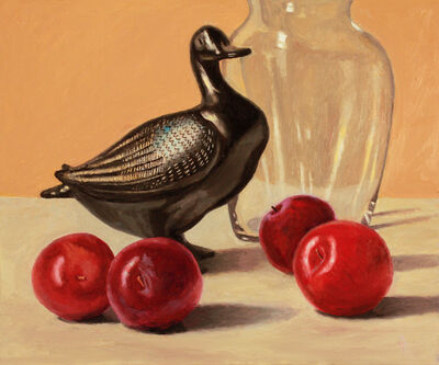 Douglas Newton, 'Duck and Plums', 2020