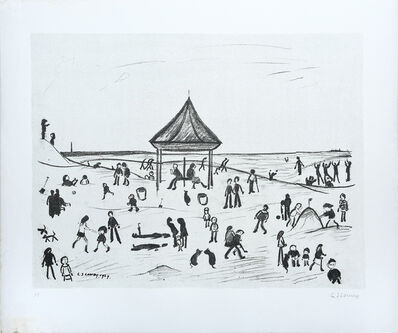 Laurence Stephen Lowry, 'The Pavilion', 1969