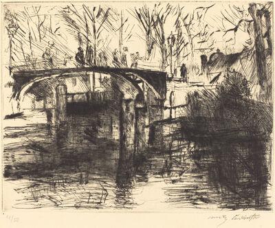 Lovis Corinth, 'View of the Tiergarten (Aus dem Tiergarten)', 1920