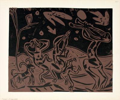 Pablo Picasso, 'Les Danseurs au Hibou', 1962