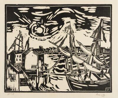 Maurice de Vlaminck, 'Le Port de Mortigues (Walterskirchen 24b)', 1922