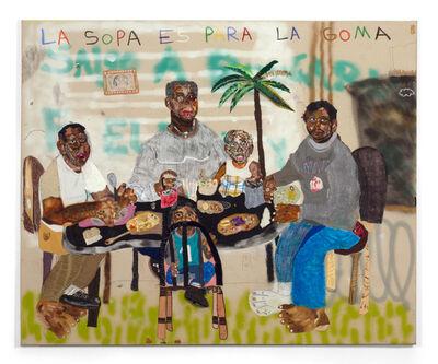 John Rivas, 'La Sopa es Para La Goma', 2020