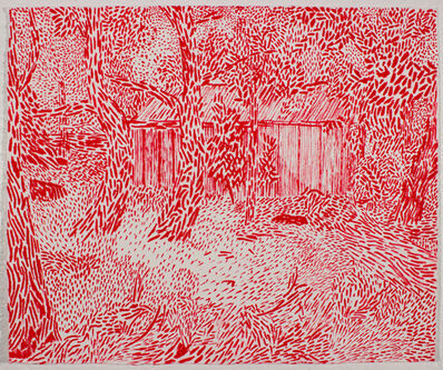 Tim Cross, 'Red Shed', 2017