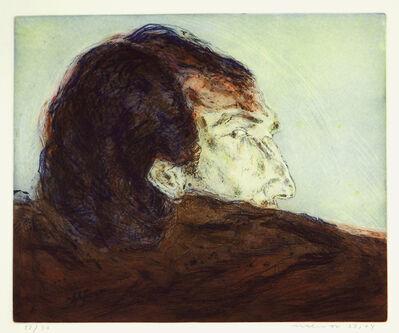 Marwan (Marwan Kassab-Bachi), 'Rucken Und Profil', 1972-1974