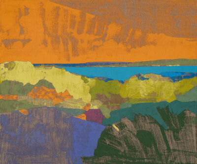 Eric Dever, 'Indian Field and Scallop Pond', 2021