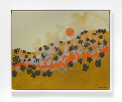 Jessie Homer French, 'Red Moon Rising', 2020