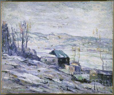 Ernest Lawson, 'Windy Day, Bronx River'