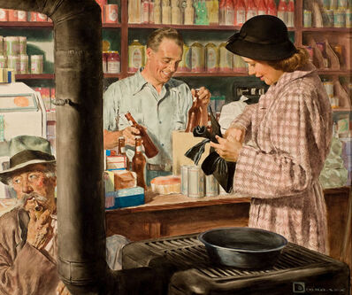 Douglass Crockwell, 'Country Store'