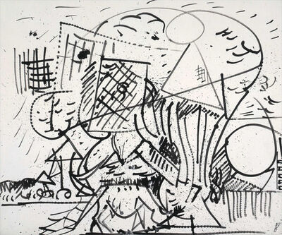 Hans Hofmann, 'Untitled', 1941