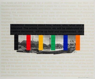 Bruce McLean, 'Great Arch of Art', 1998