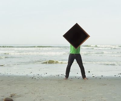 Dawit L. Petros, 'Single cube Formation No.2, Santa Barbara, CA', 2011