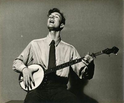 Sid Grossman, 'Pete Seeger', ca. 1948